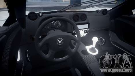 Mosler MT900 para GTA 4 vista hacia atrás