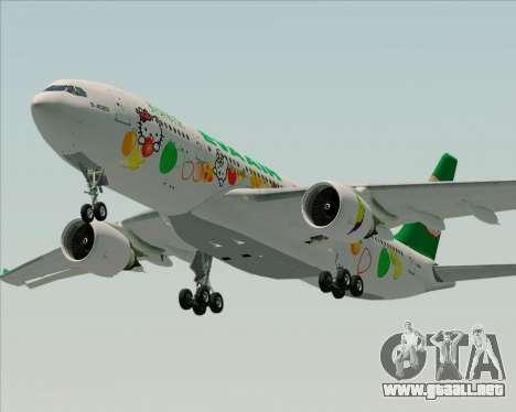 Airbus A330-200 EVA Air (Hello Kitty) para el motor de GTA San Andreas