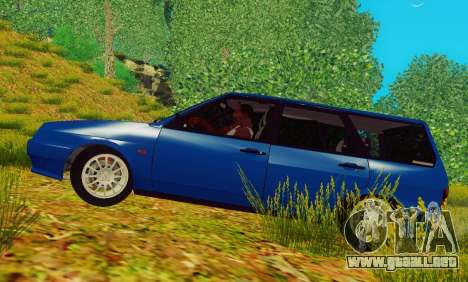 VAZ-2109 Inmuebles para GTA San Andreas left