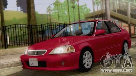 Honda Civic 2000 para GTA San Andreas