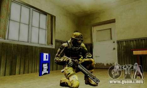 Weapon pack from CODMW2 para GTA San Andreas octavo de pantalla