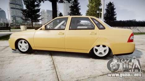 ВАЗ-2170 Instalado Priora 2014 para GTA 4 left