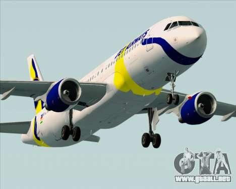 Airbus A320-200 Jet Airways para el motor de GTA San Andreas
