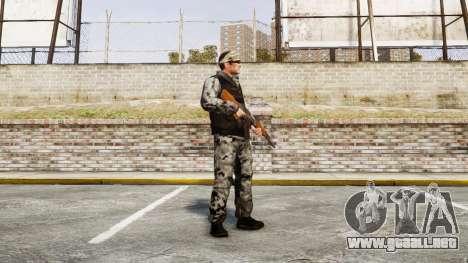 Medal of Honor LTD Camo2 para GTA 4 segundos de pantalla
