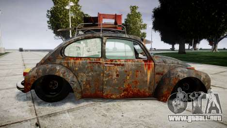 Volkswagen Beetle rust para GTA 4 left