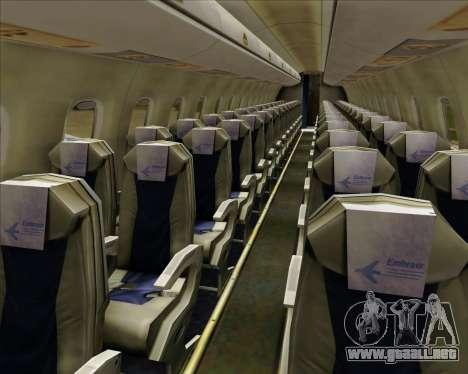 Embraer E-190-200LR House Livery para las ruedas de GTA San Andreas