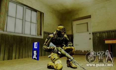 Weapon pack from CODMW2 para GTA San Andreas undécima de pantalla