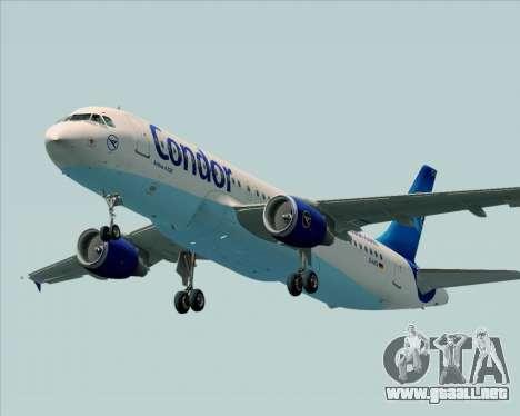 Airbus A320-200 Condor para el motor de GTA San Andreas