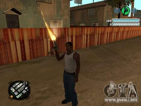 Respect C-HUD para GTA San Andreas segunda pantalla
