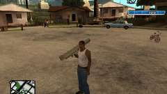 C-HUD by SampHack v.17 para GTA San Andreas