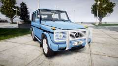 Mercedes-Benz G500 Short 1999 para GTA 4