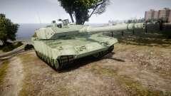 Leopard 2A7 CA Green para GTA 4