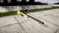 Rifle de francotirador con texturas HQ