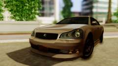 GTA 5 Intruder Tuning Bumpers para GTA San Andreas