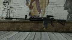 M4A1 from COD Modern Warfare 3 v2 para GTA San Andreas