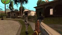 Counter-Strike HUD para GTA San Andreas