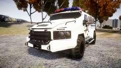 SWAT Van Police Emergency Service [ELS] para GTA 4