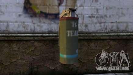 Smoke Grenade from GTA 5 para GTA San Andreas