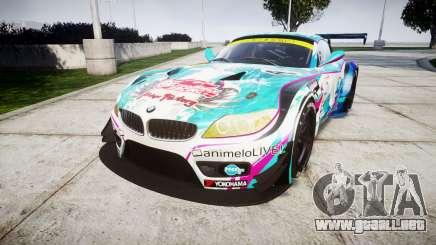 BMW Z4 GT3 2014 Goodsmile Racing para GTA 4