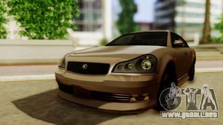 GTA 5 Intruder Tuning Bumpers para GTA San Andreas
