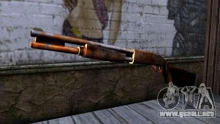 Chromegun v2 Rusty para GTA San Andreas