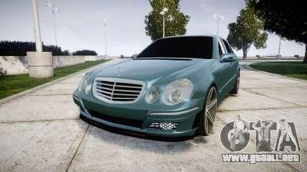 Mercedes-Benz W211 E55 AMG Vossen VVS CV5 para GTA 4