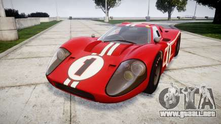 Ford GT40 Mark IV 1967 PJ 1 para GTA 4