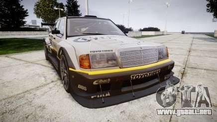 Mercedes-Benz 190E Evo II GT3 PJ 4 para GTA 4