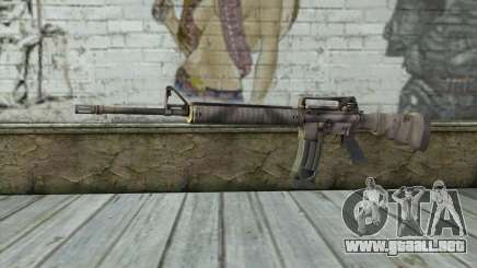 M16A4 from Battlefield 3 para GTA San Andreas