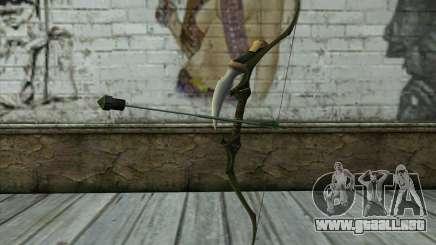 Green Arrow Bow v2 para GTA San Andreas