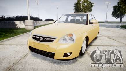 ВАЗ-2170 Instalado Priora 2014 para GTA 4