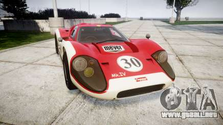 Ford GT40 Mark IV 1967 PJ Meyer 30 para GTA 4