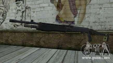 Escopeta (Renegade X Negro Amanecer) para GTA San Andreas