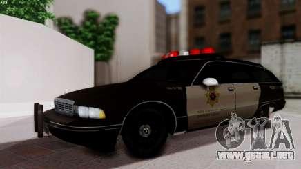 SD Chevy Caprice Station Wagon 1993 (1996) para GTA San Andreas