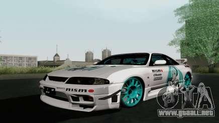 Nissan Skyline GT-R33 para GTA San Andreas