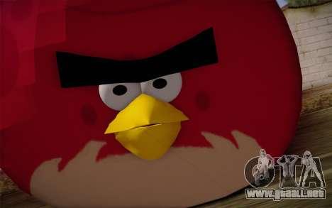 Big Brother from Angry Birds para GTA San Andreas tercera pantalla