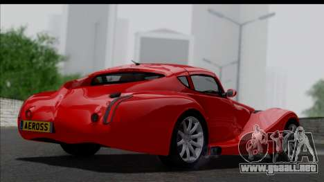 Morgan AeroSS 2013 v1.0 para GTA San Andreas left