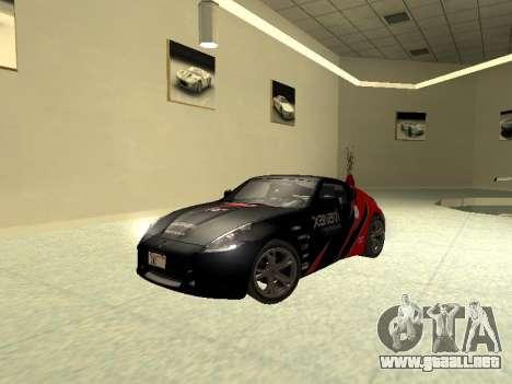 Nissan 370 Z Z34 2010 Ajustables para vista lateral GTA San Andreas