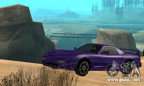 Beta ZR-350 para el motor de GTA San Andreas
