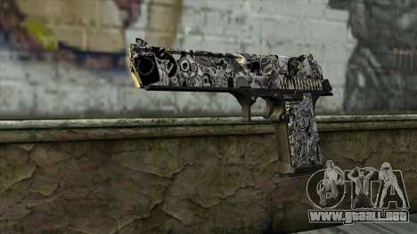 Nueva Pistola v2 para GTA San Andreas