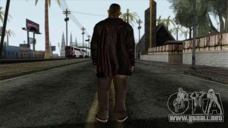 GTA 4 Skin 2 para GTA San Andreas segunda pantalla