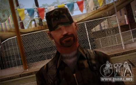 Soldier Skin 3 para GTA San Andreas tercera pantalla