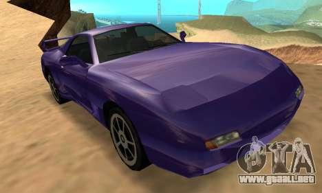 Beta ZR-350 para la vista superior GTA San Andreas