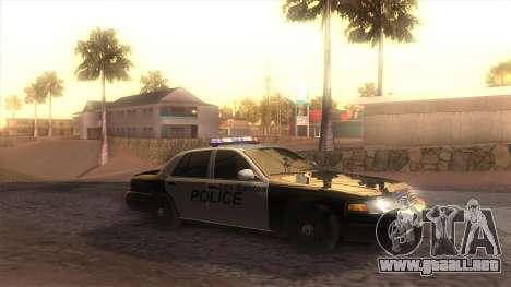 GTA 5 ENB para GTA San Andreas quinta pantalla