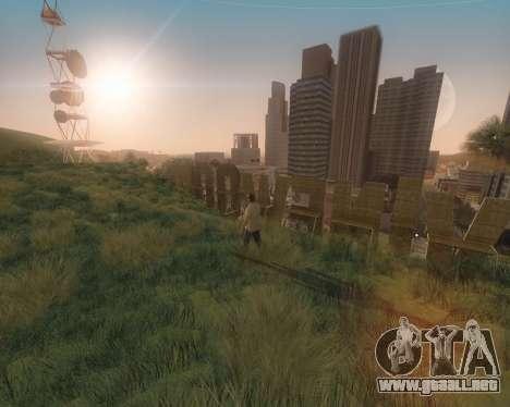 GTA 5 ENB para GTA San Andreas sucesivamente de pantalla