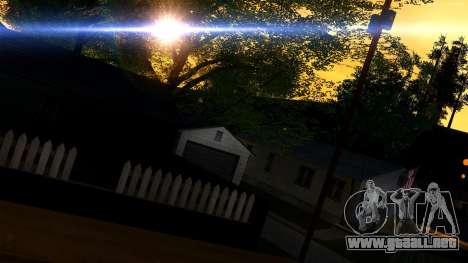 Forza Plata ENB Series para PC de bajos para GTA San Andreas tercera pantalla