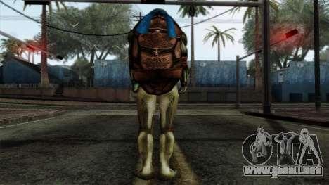 Leo (Las Tortugas Ninja) para GTA San Andreas segunda pantalla