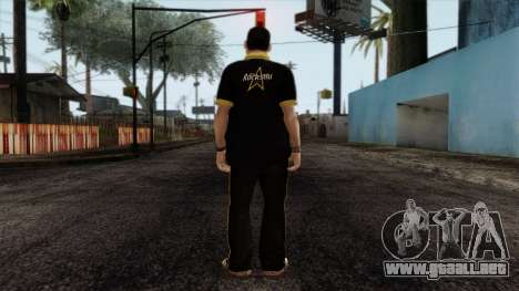 GTA 4 Skin 12 para GTA San Andreas segunda pantalla