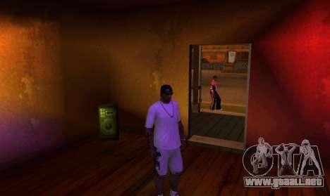 New OG Lock House para GTA San Andreas sucesivamente de pantalla