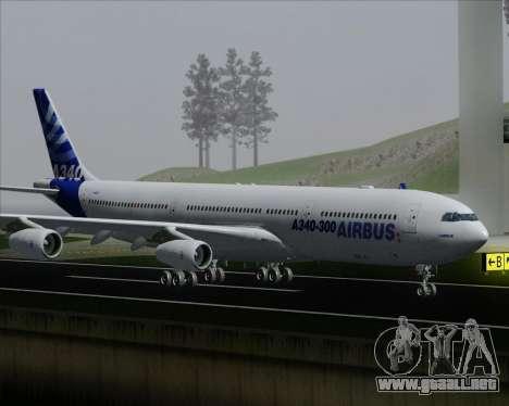 Airbus A340-300 Airbus S A S House Livery para las ruedas de GTA San Andreas